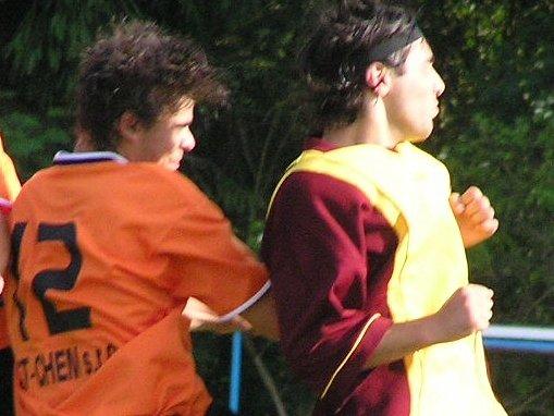 Novou posilou futsalistů SK Kladno se stal gruzínský útočník Vasil Jalaghonia (vpravo).