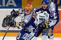 Michal Havel ještě v kladenském dresu (vpravo).