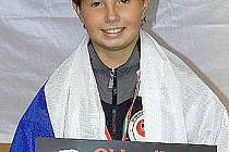 Tereza Jaňourová si z Budapešti přivezla bronzovou medaili.