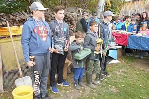 Dětské rybářské závody Vendy cup.