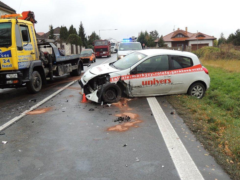 Středeční nehoda u Velkého Přítočna