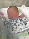 EDUARD KRÁL, ŽILINA. Narodil se 18. prosince 2017. Po porodu vážil 4,10 kg a měřil 52 cm. Rodiče jsou Veronika Uhlířová a Ondřej Král. (porodnice Kladno)