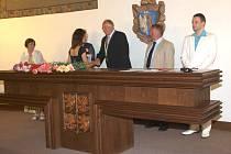 Obřadní síň v kladenské radnici čekají velké změny. Město Kladno do poravy investuje zhruba 6, 5 milionu korun.