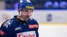 Chance liga, Kladno ( v modrém) hostilo Benátky. Tomáš Plekanec.