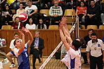 Kladno volejbal cz - AERO Odolena Voda 2:3, Extraliga volejbalu, Kladno, 14.11. 2015