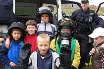 Děti z Unhošťě se zúčastnily akce Osud přeje připraveným.