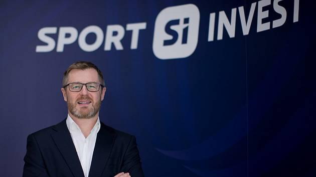 Robert Spálenka, generální ředitel společnosti Sport Invest hockey.