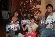 Vánoce v Dětském domově v Ledcích.