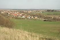 Pohled na obec Brandýsek