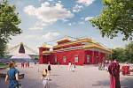 Někdejší důl Vaněk v Kamenných Žehrovicích má šanci se proměnit na buddhistické centrum. Buddhistická nadace Tertön Foundation zde zamýšlí vybudovat jednu z největších stúp na světě.