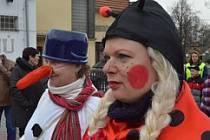 Druhý pokus o obnovení masopustního průvodu se konal v sobotu ve Stehelčevsi.