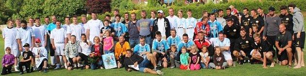 7. ročník Memoriálu M. Ježka opět ozdobily hvězdy hokejového ifotbalového nebe.