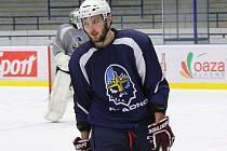 Martin Procházka na prvním tréninku v Kladně.