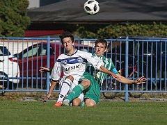 SK Kladno - Hostouň,  tady se ještě Vladimír Procházka (vlevo) neprosadil, ale na Tatranu už ano.