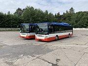 Kladeňáci se budou vozit novými bezbariérovými autobusy.