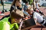V Čáslavi proběhlo za účasti hvězd minulosti Šárky Kašpárkové či Michala Janáčka krajské kolo Odznaku všestrannosti