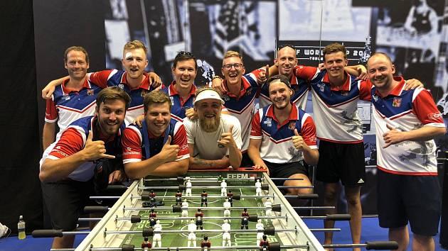 Stolní fotbalisté z Kladna vybojovali na MS ve Španělsku bronzové medaile.