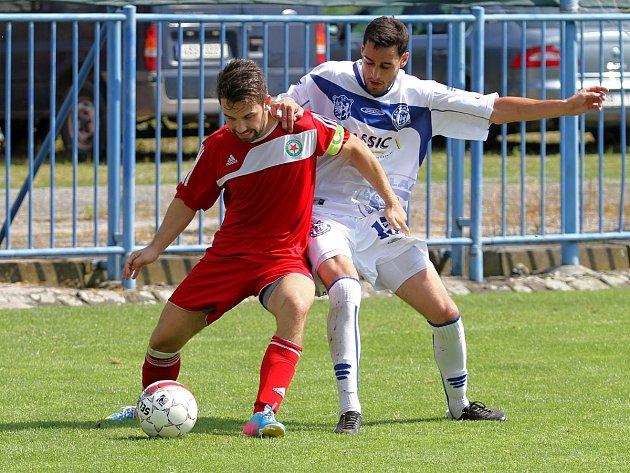 SK Kladno -TJ Slavia Louňovice 2:2 , Divize B 2013/14, hráno 10.8.2013