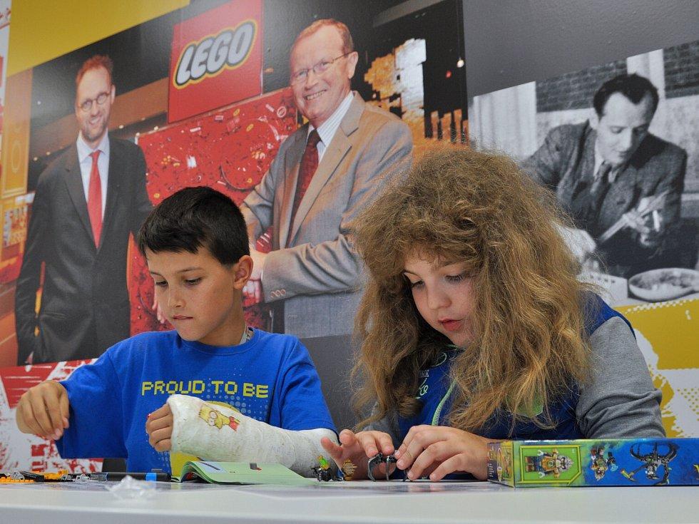 Vyhlášení soutěže Postavte z kostiček LEGO svůj prázdninový příběh.