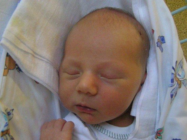 David Křížek, Louny, 8.11.2011, váha 3,45 kg, míra 51 cm, rodiče Eva Vondráčková a Tomáš Křížek (porodnice Slaný)