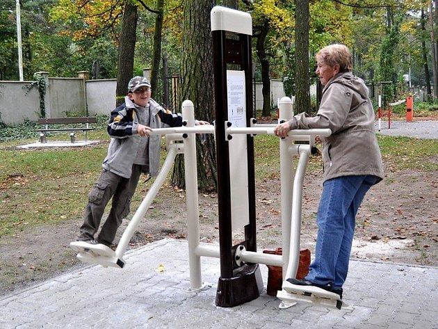 Park setkávání bude podobný fit partku, který se nachází v areálu Sletiště.