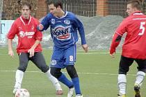Plzeň B - Kladno 0:4. Antonín Holub.