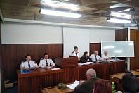 Hasiči z Kladenska se sešli na shromáždění. Projednával se mimo jiné rozpočet.