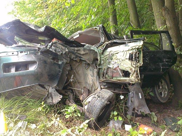 Vážná dopravní nehoda se stala v pátek odpoledne.