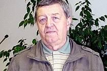 Předseda OV ČSTV Kladno Oldřich Baroch.