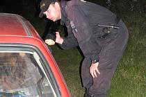 Při kontrolách řidičů policisté žádný alkohol nezaznamenali.