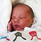 JÁCHYM VESELÝ, KLADNO. Narodil se 17. dubna 2017. Váha 3,33 kg, míra 48 cm. Rodiče jsou Alice Svobodová a Ivan Veselý (porodnice Kladno).