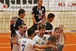 Kladno volejbal cz - CRCK Kazincbarcika 3:1, CEV CUP 2018/19,  Kladno, 29. 11. 2018