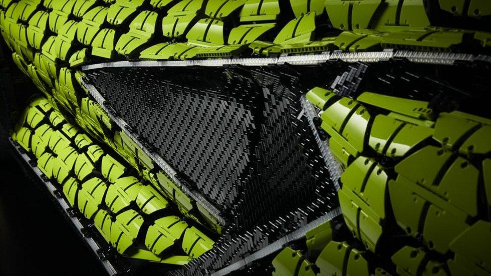 Model vozu Lamborghini z Lega.