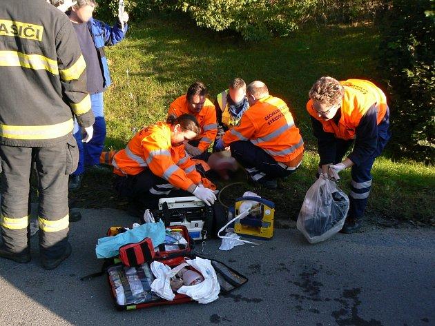 Tragická nehoda se stala ráno ve Kněževsi.