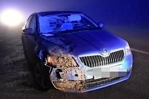 Tragická nehoda u Velvar 2. února 2021.
