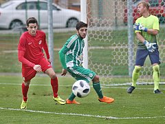 Sokol Hostouň - FK Ostrov 7:1 (2:0), Divize B, 23. 9. 2018