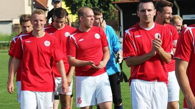 90. let fotbalu v AFK Tuchlovice.