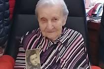 Jiřina Beránková ze švermovského domova slaví 100. narozeniny.