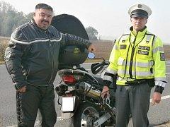 Policisté při prevebntivní akci kontrolovali především motorkáře, ale nejen je.