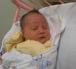 SÁRA KAISEROVÁ, SLANÝ. Narodila se 21. května 2017. Váha 3,7 kg, míra 48 cm. Rodiče jsou Hana Foldová a David Kaiser (porodnice Slaný).