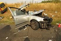 Tragická nehoda ve středu uzavřela tah z Prahy do Chomutova na dlouhé hodiny.