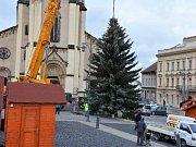 Strom splněných přání bude rozsvícen v pátek 1. prosince. Vzácným hostem bude zpěvačka Lucie Bílá.