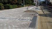 Rekonstrukce ulice Cyrila Boudy v Kladně už míří do finále.