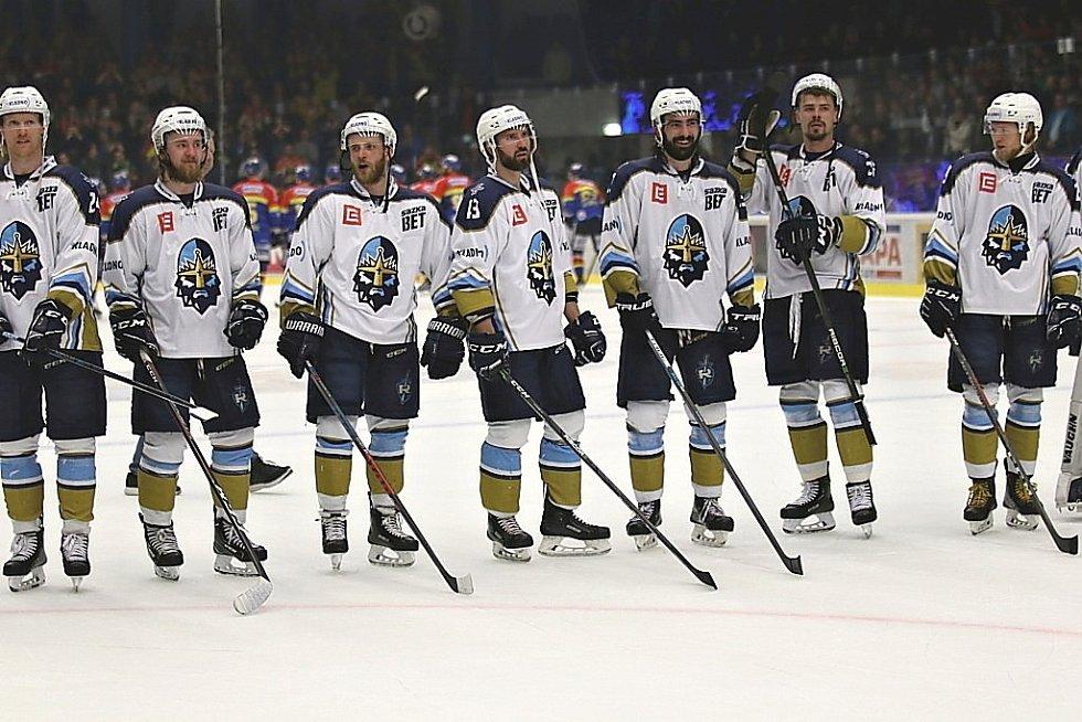 Kladno uspělo ve třetím barážovém duelu, porazilo 2:0 České Budějovice.