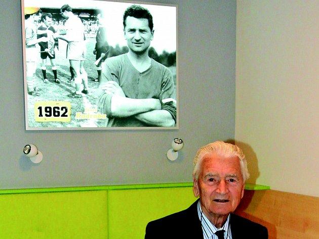 1962. Takové je číslo pokoje sporthotelu, jež je spjaté s kariérou fotbalisty Josefa Kadraby (na snímku).