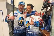 Petra Vampola po zápase s Třincem získal cenné foto - vedle něj stojí herecká hvězda Orlando Bloom..