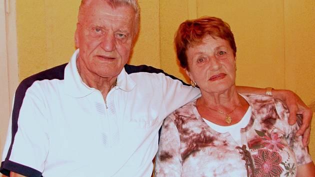 Miroslav Rys s manželkou Danou