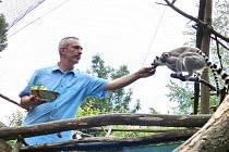 NA KŘTINY  PŘIŠLO  asi sto lidí. Za  sobotu zoo navštívilo zhruba 500 příchozích.