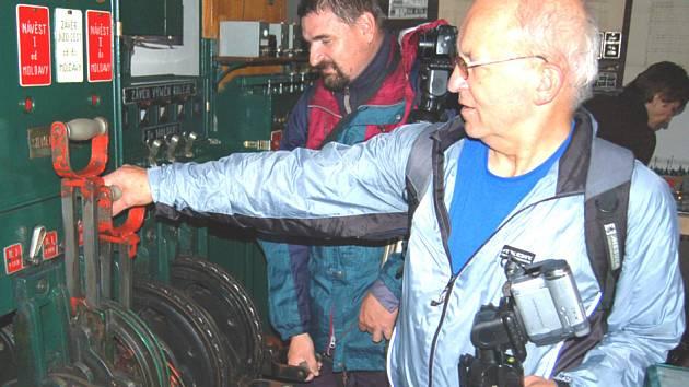 Železniční muzeum ve Zlonicích slavilo desáté výročí.