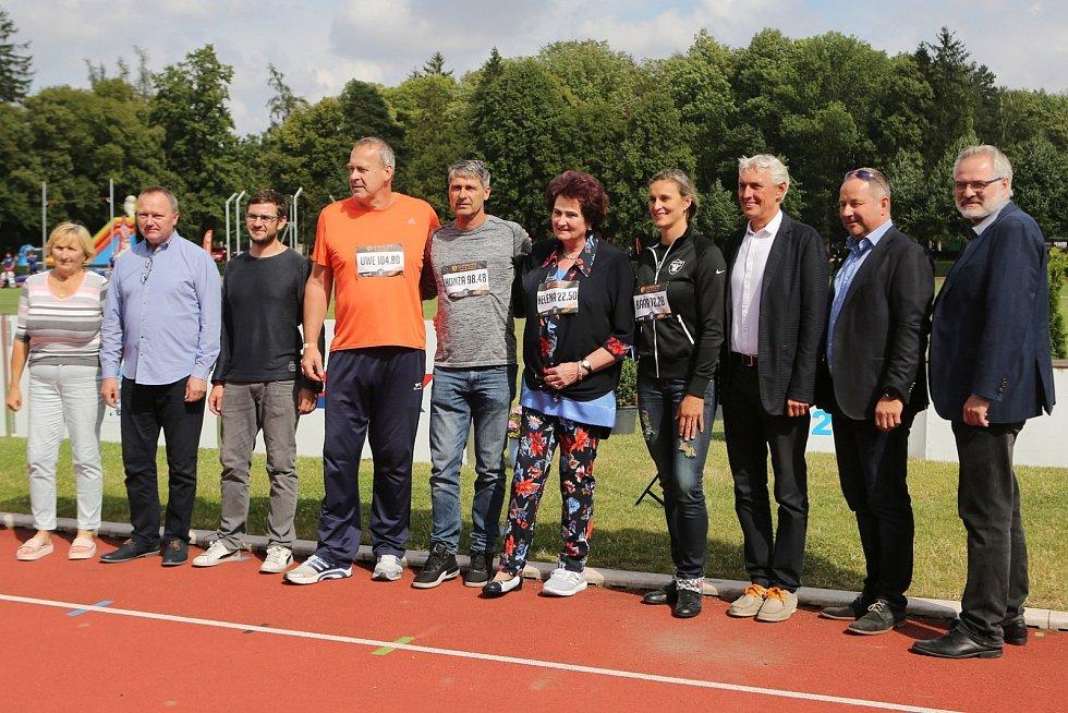 Kladno hází 2019 / Atletický meeting Kladno 13. 7. 2019